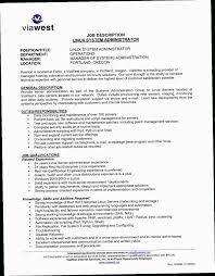 Linux System Administrator Resume Jwbz Linux Admin Resume Sample