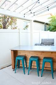 create an outdoor kitchen island with these free build plans this portable kitchen island will transform your barbecue into a functional outdoor kitchen