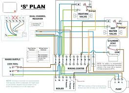 central heating s plan wiring diagram luxury central boiler