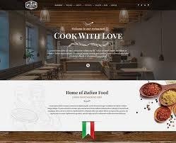 Restaurant Website Templates New Restaurant Website Templates Gridgum
