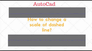 It will also show following: Autocad How To Change A Scale Of A Dashed Line 1 Minute Tutorial Youtube