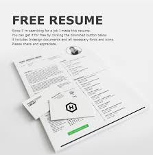 free cv template download with photo 75 best free resume templates of 2018