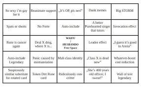 New Expansion Bingo Chart Shadowverse