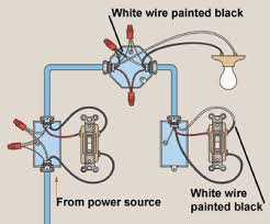 three way switch wiring how to wire 3 3 Wire Switch Wiring Diagram Speed Ceiling Fan