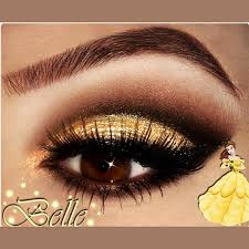 would you try belle inspired by katelynn r thanks for another amazing eye look to go with this week s disney bounding look