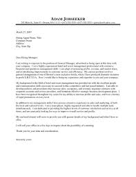 Property Manager Cover Letter Sample Free Resume Examples