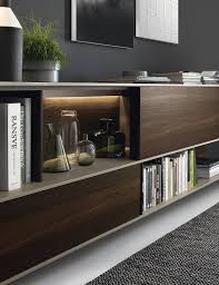 indirect lighting ideas tv wall. a combination of open shelves and closed cabinets for the wall unit decoist indirect lighting ideas tv o