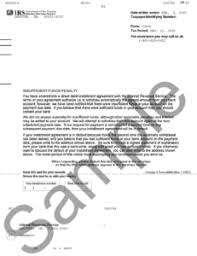 Irs Notice Cp57 Insufficient Funds Penalty H R Block