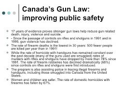 the canadian gun control registry 4 s gun law