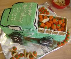 Easy Cake Recipe For The Coolest Ever Truck Cake