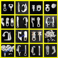 Details About 30 Curtain Track Gliders Glide Hooks Runners Pole Slides Rail Tracking Parts