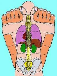 Top Of Foot Reflex Chart Self Reflexology Top Of Foot Bottom Half Bliss Squared