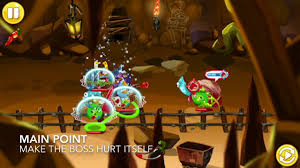 angry birds epic | cave 15 boss (lawrence) 3 stars walkthrough - YouTube