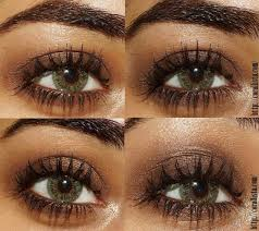 easy brown smokey eye makeup