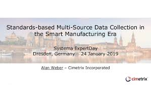 Alan Weber from Cimetrix talks about Multi Source Data Collection