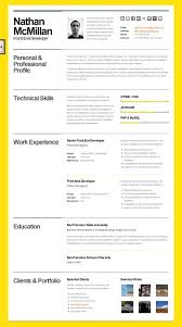 Free Resume Builder And Free Download Cool Attractive Resume Templates Free Download Word Creative Resume
