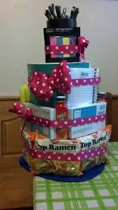 college survival kit cake