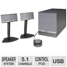 office speaker system. bose companion 5 multimedia speaker system office g