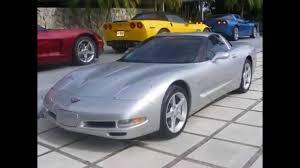 2001 Chevrolet Corvette Coupe Silver - YouTube