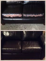 how to paint leather furniture. Quick Flaky Leather Couch Fix. Get A Chip Of The Peeling Leather, Go To How Paint Furniture