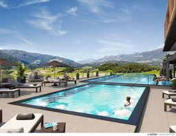 Hotel Nevis Wellness And Spa South Tyrol Hotel Expands With Spa In A Mountain Lagoon