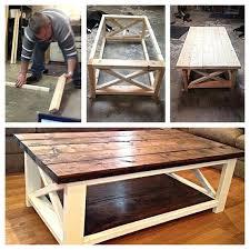 farmhouse coffee tables table ideas best on ana white