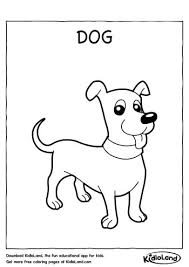 Free printable dogs coloring pages. Download Free Dog Coloring Page And Educational Activity Worksheets For Kids Kidloland Com