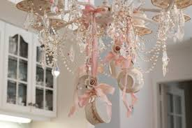 elegent chabby chic teacup chandelier by janet shabby fufu