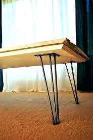 diy hairpin leg coffee table coffee table with hairpin legs hairpin leg coffee table marble remnant