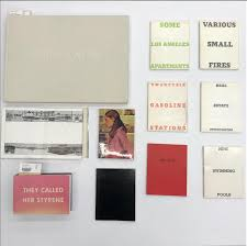ed ruscha is easily one of the artists who helped artists books get more widely recognized his early self published books such as the twenty six gasoline