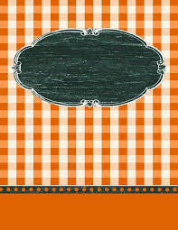 9 free editable binder covers in gingham check free