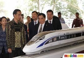 Hasil gambar untuk kereta cepat jakarta-bandung china