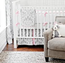 layla set by bebe chic shown on a bellini crib