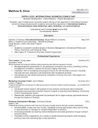 College Resume Format Simple Format Of A Resume For Students High School Resume Format For