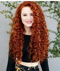 Hairstyles For Long Curly Hair 90 Inspiration Trendy Naturally Curly Hair Look Madelaine Petsch As Audrey Lahey