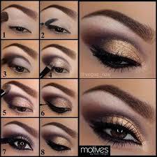 image via fashionstylemag golden shades eyeshadow tutorial 2