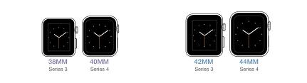Apple Watch Size Chart Monowear Apple Watch Size Guide