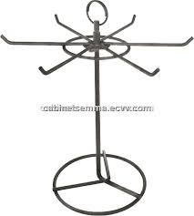 Ornament Hanger Display Stand 100 Prongs Rotating Wire Ornament Display Stand Counter Top 33