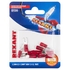 Отзывы покупателей о <b>Наконечник вилочный Rexant</b> 06-0402-A ...