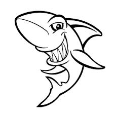 Haaien Kleurplaten Papieren Versies Kleurplaten Potlood