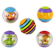 Купить <b>развивающую игрушку Bright starts</b> Забавные шарики (1 ...