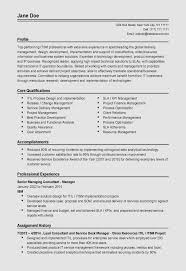 Senior Executive Resume Examples Operations Manager Resume