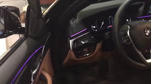 All New 2017 Bmw 5 Series Interior Lighting
