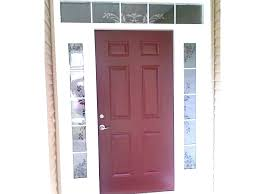 4 window front door 3 4 window front door transom with above ideas home depot glass