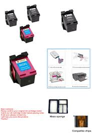 visit to 3 pcs ink cartridge for hp 302 302 xl ink cartridge