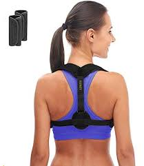 Posture Corrector for Women \u0026 Men - Adjustable Brace Clavicle Support and Upper Back Amazon.com: