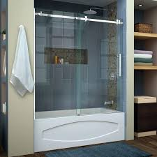 remarkable glass shower doors for bathtub bathtub doors bathtubs the home depot installing glass shower doors