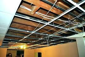Basement Lighting Design Stunning Drop Ceiling Installation Cost Install Best Of Lights For Basement