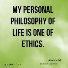 my personal philosophy life essay