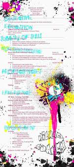 40 artistic résumés to boost your skills graphic resume by supercaliskier